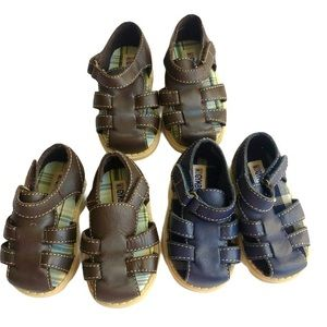 Gymboree Toddler Boys Sandals Lot Size 2 and 3